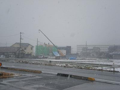 雪の日の・・・