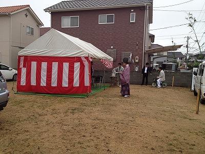 M様邸地鎮祭